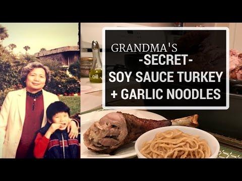 86 Year Old Grandma Shocked By Grandson W/ Her Soy Sauce Turkey Recipe