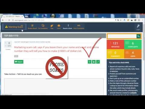 How to Report a scammer phone or spam email & scam website