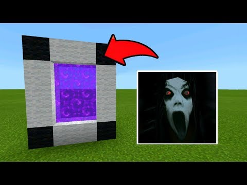 Minecraft Pe How To Make A Portal To The SLENDRINA Dimension - Mcpe Portal To The SLENDRINA!!!