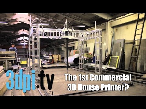 Buy a 3D House Printer for €12,000