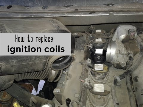 How to replace ignition coils - Chevy Trailblazer