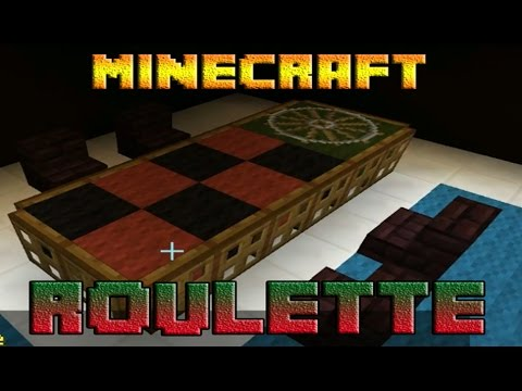 Minecraft - How to make a roulette table
