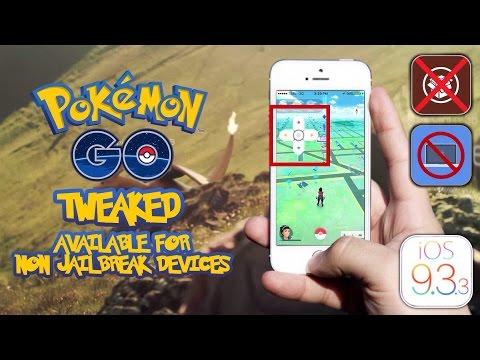 Tweaked Pokemon GO Available For Non Jailbreak Device iOS 10 No PC