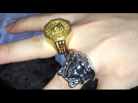Versace Ring Unboxing