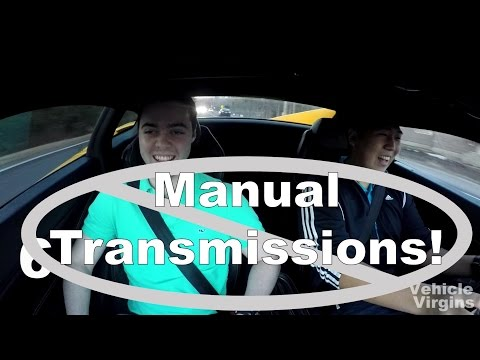 Why You Shouldn't Buy a Manual Car!
