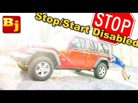 Jeep Wrangler JL Stop Start is Annoying - How to Disable the ESS
