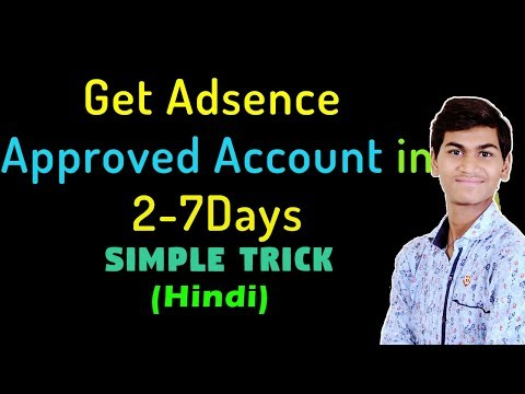 How to Approve Google Adsense Account for Website in 2 Days [Hindi]