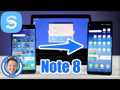 Samsung Note 8 Smart Switch Mac or PC Backup & Transfer