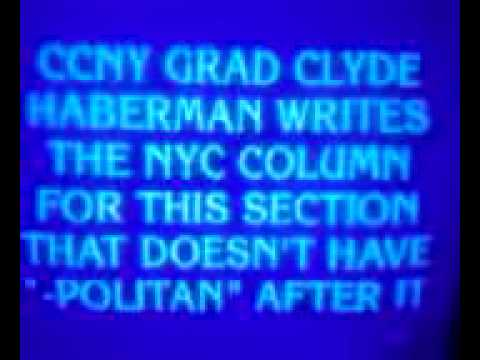 Clyde Haberman Jeopardy! question and answer