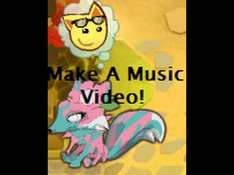 Animal Jam! How to make A Music Video! (with just pictures)