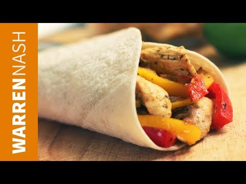 Chicken Fajitas Recipe - Mexican classic - Recipes by Warren Nash