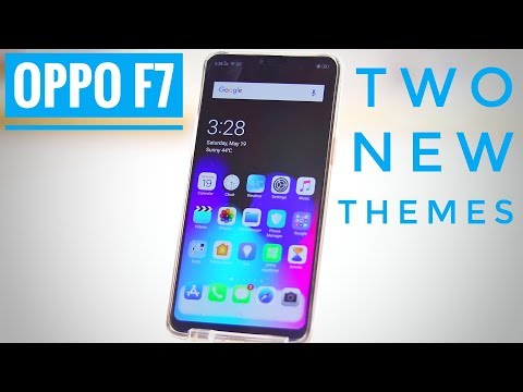 Oppo F7 Two New Themes