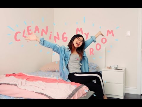 clean with me! (my messy bedroom)
