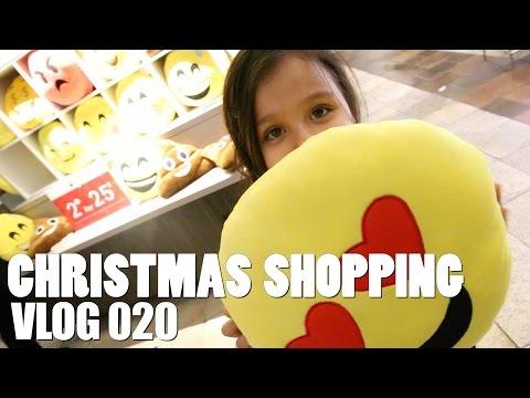 VLOG 020 | Christmas Shopping | 12.19.15