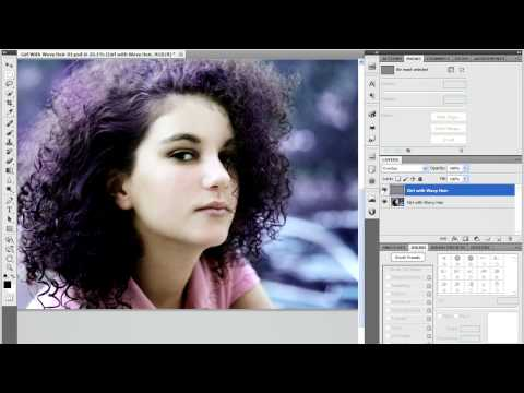 Sharpen a Photo in Photoshop CS5 - High Pass Filter and Sharpen Tool
