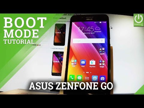 How to Enter Boot Mode in ASUS Zenfone Go - ASUS Boot Mode