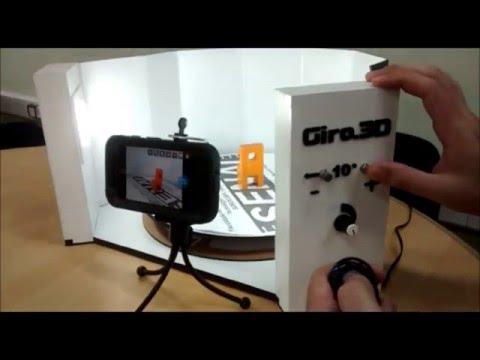 Scanner 3D with Autodesk Memento
