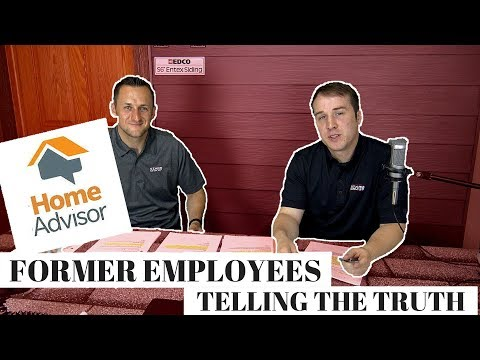 Scam Alert: Must Watch video before signing up for HomeAdvisor