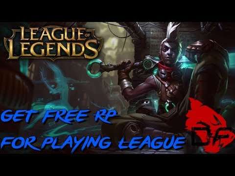 How to get free Riot points for league with Uproar