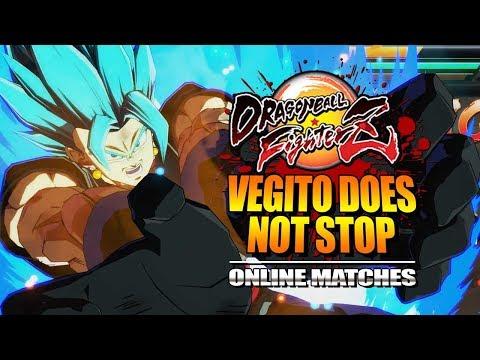 VEGITO DOES NOT STOP : Week Of! Vegito/Zamasu - Dragon Ball FighterZ - Online Matches