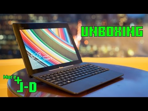 ASUS Transformer Book T100TA UNBOXING
