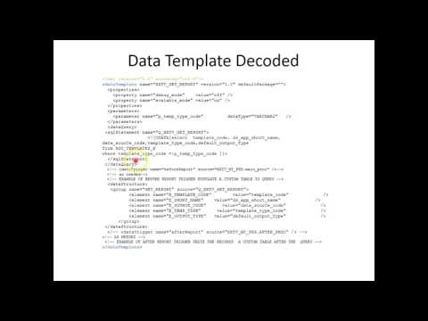 bip 002 005 - Data template based Data extraction