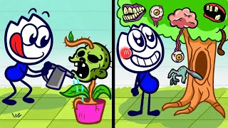 Zombie Cultivation - Pencilanimation Funny Animation Video