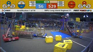 Qual 1 - 2018 SBPLI Long Island Regional #1