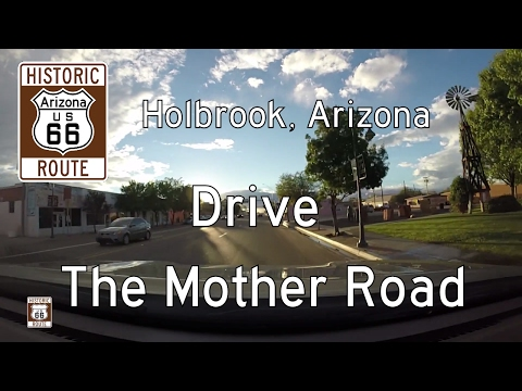 Historic Route 66 - Holbrook - Arizona | Drive America's Highways 🚙