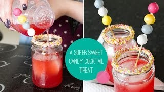 To make this DIY & loads more visit: http://www.bespoke-bride.com/  Learn how to make these delicious sweet candy cocktails perfect for a night with the ladies! CHEERS!
