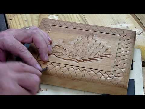 Carving A Stark Cigar Box - Game of Thrones inspired