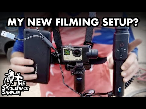 GoPro KARMA GRIP SETUP with GREAT AUDIO & ENDLESS BATTERY!   // The Singletrack Sampler