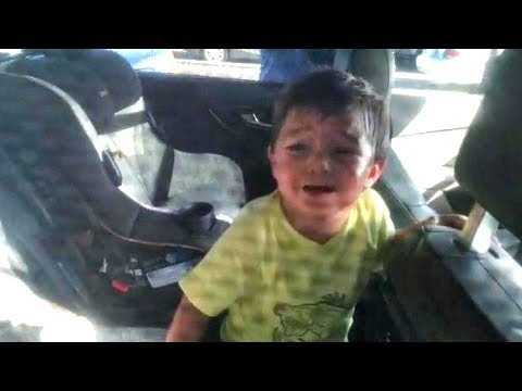 2-Year-Old Boy Who Accidentally Locked Himself Inside Car is Rescued By Cops