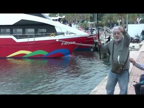 FISHING IN ALICANTE, SPAIN, McD'AGO