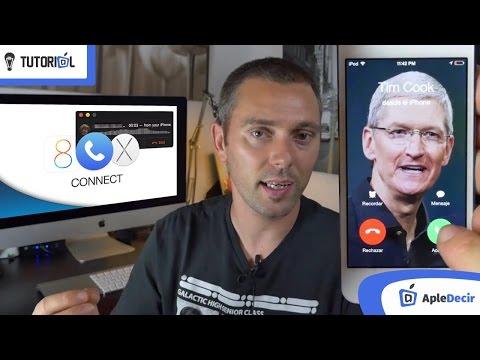 Como hacer llamadas telefónicas desde iPod, iPad y Mac.