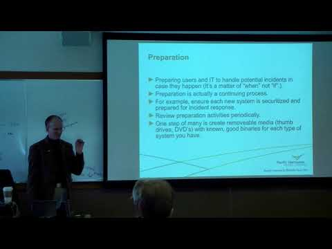 Incident Response with Live Linux Forensics  Gary Smith from Pacific Northwest National Laboratory