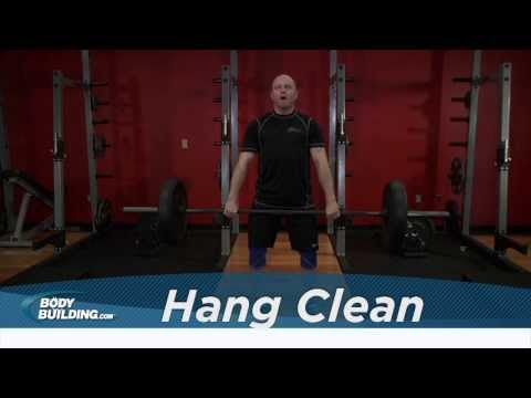 Hang Clean - Shoulders / Legs / Back Exercise - Bodybuilding.com