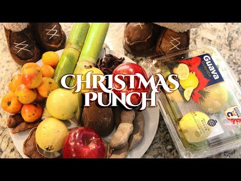 How to make Christmas Punch (Recipe) / Cómo preparar ponche navideño?
