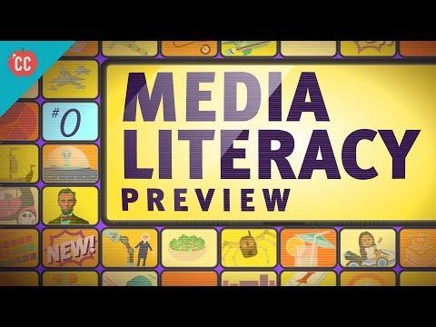 Crash Course Media Literacy Preview