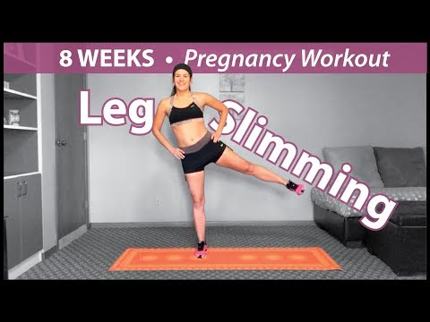 Leg Slimming | Pregnancy Workout | First Trimester