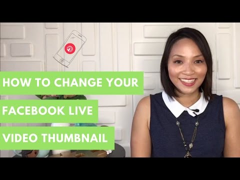 Facebook Live Tips and Tricks : How to upload a custom thumbnail for Facebook Live