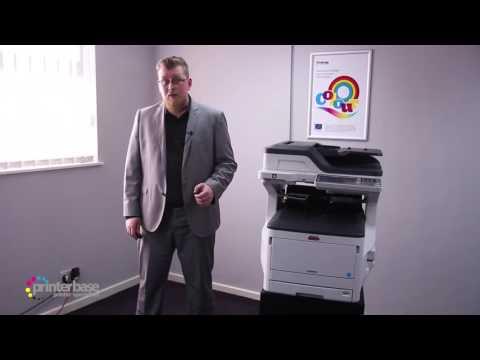 OKI MC853 A3 Colour Laser MFP Demo | printerbase.co.uk