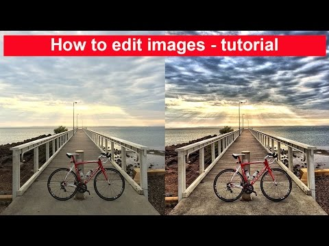 How to edit images on your iPhone or iPad - Tutorial video