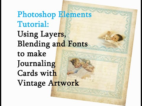 How to Create Scrapbooking Embellishments with Photoshop Elements 14