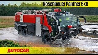 Rosenbauer Panther 6x6 Fire Truck   Feature   Autocar India