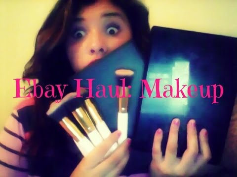 brushes and palettes: ebay haul