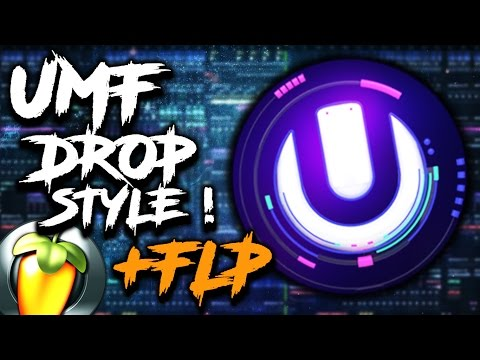 HOW TO MAKE A House Drop Like Ultra Music Festival !! + FLP for Free !!