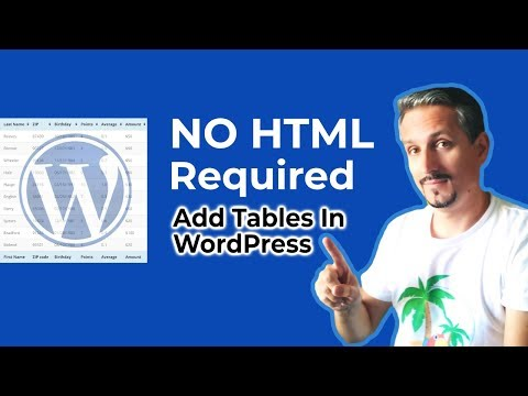 TablePress Tutorial: Add WordPress Tables Without Coding