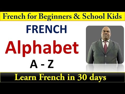 Learn French alphabet A to Z Beginners level