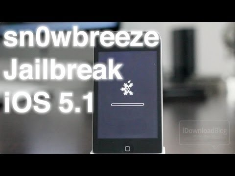How to Jailbreak iOS 5.1 With sn0wbreeze on Windows (iPhone 4, 3GS, iPod touch 4G, 3G, iPad 1)